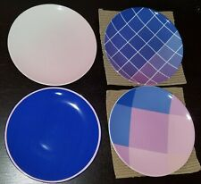 """Domino by Lenox Optique Set of 4 6"""" Tidbit Plates NEW IN BOX"""
