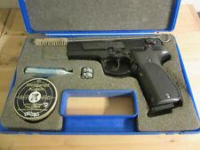 pistolet Walther CP88 air comprimé CO2 billes acier métal cartouches