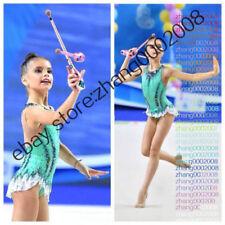 rhythmic gymnastics leotard,Acrobatic Rock'n'Roll baton Twirling dance RG custom
