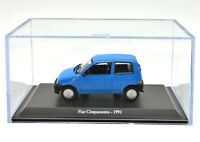 Fiat Scale 1/43 Cinquecento 500 Car Models diecast NOREV collection Edicola