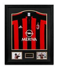 Paolo Maldini Signed AC Milan Shirt Framed Autograph Home Jersey Memorabilia COA
