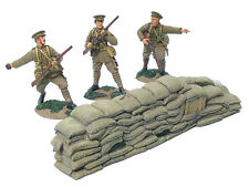 Britains World War 1 17648 British 4Th Bat Firing Line Set #2 With Barricade Mib