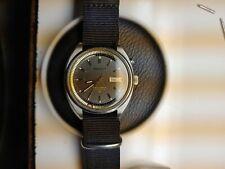 Seiko Bellmatic Black Dial 4006 7002. Auto 1970 Runs Perfect