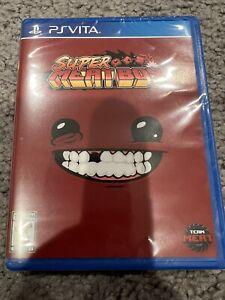 Super Meat Boy Playstation Vita (PS Vita) Limited Run Games #223 - NEW w/card