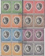 Namibië - Southwest 182-197 horizontaal Koppels (compleet.Kwestie.) met Fold 193