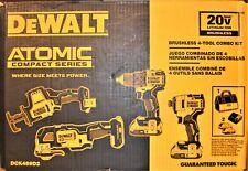 Dewalt DCK489D2 20V Cordless Brushless 4-Tool Combo Kit - NEW