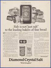 Vintage 1922 DIAMOND CRYSTAL Shaker Salt Kitchen Ephemera Décor 20's Print Ad
