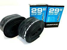 "X2 IMPAC Bikes Inner Tube 29"" 1.75-2.35 + 27.5 2.00-2.35 650b Presta Valve Tube"