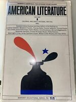 Barrons Essentials/The Efficient Study Guides American Literature 1st Ed 1963