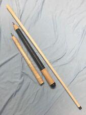 J&J Natural Birdseye Maple Jump Break Cue W/ Black Phenolic Tip / Ferrule