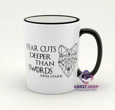 Game of Thrones Mug, Arya Stark quote, gifts ideas, Gifts to her, birthday gifts