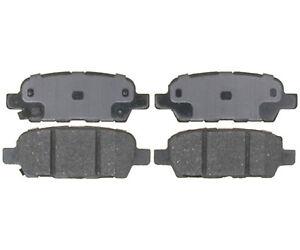 Disc Brake Pad Set-Service Grade; Ceramic Rear Raybestos SGD1288C