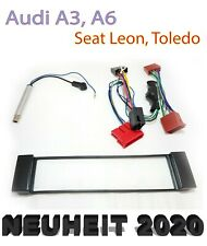 Marco de Radio Set Para Audi A3 8L A6 C5 4B Seat Toledo Leon Sistema Activo Iso
