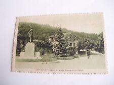 Como - Lanzo d'Intelvi Monumento ai Caduti - spedita f. p. 1926
