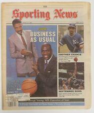 1987 Sporting News Michael Jordan & Julius Erving Front Cover US#695