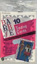 Vintage Barbie Doll Fashion & Facts Over Years Trading Cards 10 Pack Sealed 1990