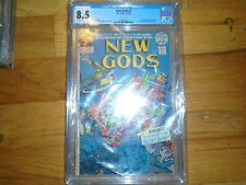 NEW GODS #7 CGC 8.5 OWW 1st STEPPENWOLF DARKSEID ORIGIN Snyder Cut !!