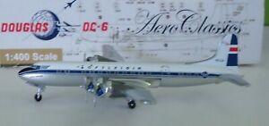 AeroClassics 1:400 - DC-6  Loftleider  Airlines #TF-LLA