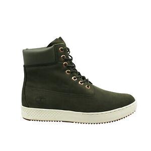 Timberland Cityroam 6 Inch Waterproof Green Lace Up Mens Boots