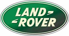 Land Rover Large Oval Sticker Decal  240mm x 120mm Defender Discovery 90 110 TD5