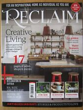 Reclaim magazine May 2018 Issue 26 Water Features Art from Old Metal Cabinet