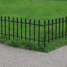 Sunnydaze Set of 5 Border Patio Walkway Fence Panels Garden Decor - Roman Style