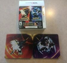 Pokemon Ultra Sun and Moon Steelbook & Box Only - NO GAMES INCLUDED