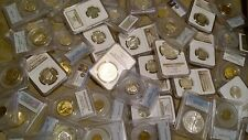 US Coin Collection PCGS / NGC, Silver, 100 Year Old BU Coins GRAB BAG BUDGET LOT