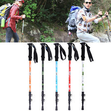 Alpenstock Telescopic Nordic Walking Trekking Pole Hiking Stick 3-Section Carbon