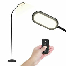 Adjustable Floor Lamp Dimmable Led Light Standing W/Remote Control for Bedroom