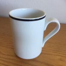 """Dansk Bistro Christianshavn Blue Portugal Wht/Dk Blue Bands 1 Coffee Mug  4 1/8"""""""