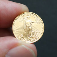 Pièce Or 5 Dollars Etats-Unis 1/10 once American Eagle Gold Coin  USA 1/10 oz