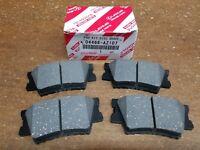 Toyota RAV4 2006-2013, Rear OEM Ceramic Brake Pads w/o Shims 04466-AZ107