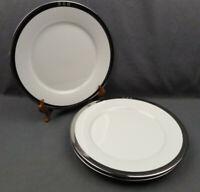 """Lot of 3 Ralph Lauren Academy Platinum Dinner Plates 10 3/4"""""""