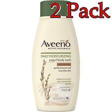 Aveeno Daily Moisturizing Yogurt Body Wash, 18oz, 2 Pack 381371169337A610