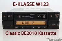 Original Mercedes Classic BE2010 Kassettenradio W123 Autoradio CC E-Klasse C123