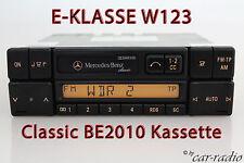 MERCEDES Autoradio Originale w123 classe e c123 Classic be2010 cassette radio CC