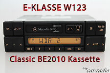 Mercedes Original Autoradio W123 E-Klasse C123 Classic BE2010 Kassettenradio CC