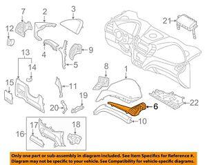 974062W000NN2 Hyundai Duct assyside air ventrh 974062W000NN2, New Genuine OEM Pa