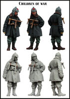 1/35 Scale Resin Figure Model Kit Children of War EM-35105