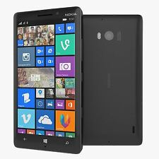 Nokia Lumia 930 32GB (Unlocked) Black Windows Smartphone - Grade B
