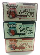Southern Breeze Sweet Tea Family Size Box of 3 Variety Pack (48 total bags)