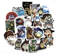 "Totoro Studio Ghibli Anime 50 Stickers Decal Lot 1-3"" Luggage Laptop US Seller"