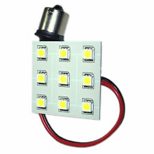 HQRP BA15s 9 LEDs Blanco Bombilla Reemplazo para 1073 1156 Keystone RV Interior