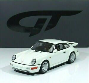Porsche 911 (964) Carrera 4 Lightweight Bauj 1990 white 1:18 GT319 GT-Spirit