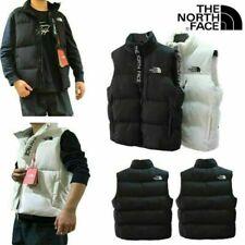 The North Face 700 Body Warmer Women's Men's Winter Down Cotton Vest White Black
