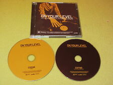 On Your Level 2 CD Album Dance House ft eleven club anthems plus CD mixed by the