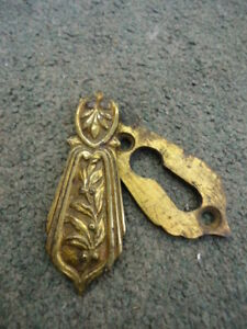 Vintage Cast Brass Keyhole Cover