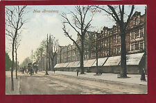 Vintage Postcard.New Broadway,Ealing.Postmark Ealing 1905. E18