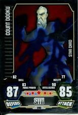 Star Wars Force Attax Series 3 Card #205 Count Dooku
